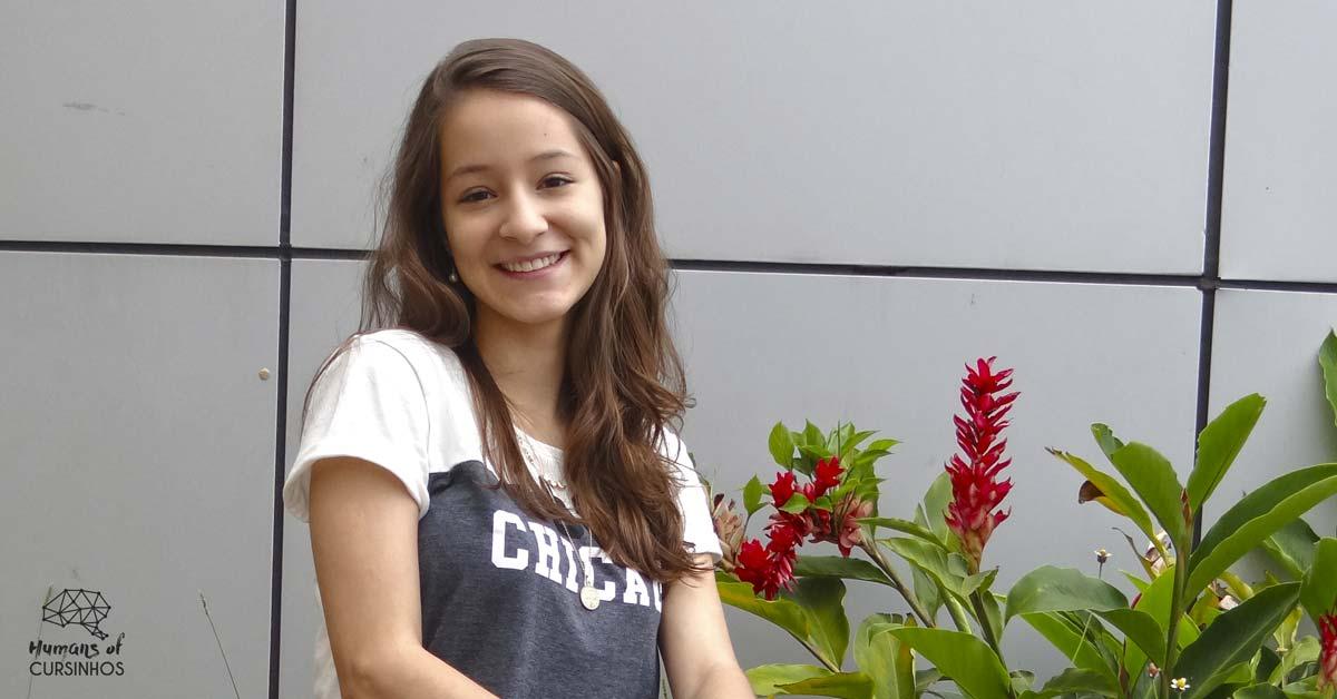 Juliana Bacelar, estudante de Ciências Contábeis da UnB, assessora administrativa-financeira do Galt Vestibulares - Cursinho Gratuito cursinho pré-vestibular gratuito universitário popular brasil cursinhos